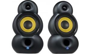 Bluesound POWERNODE 2 et Podspeaker Bigpod Noir mat