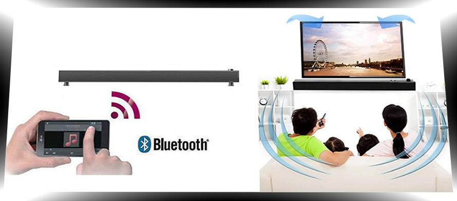Barre de son sans fil bluetooth 2 1 tv 24 bit 192 khz - Home cinema 2 1 sans fil ...