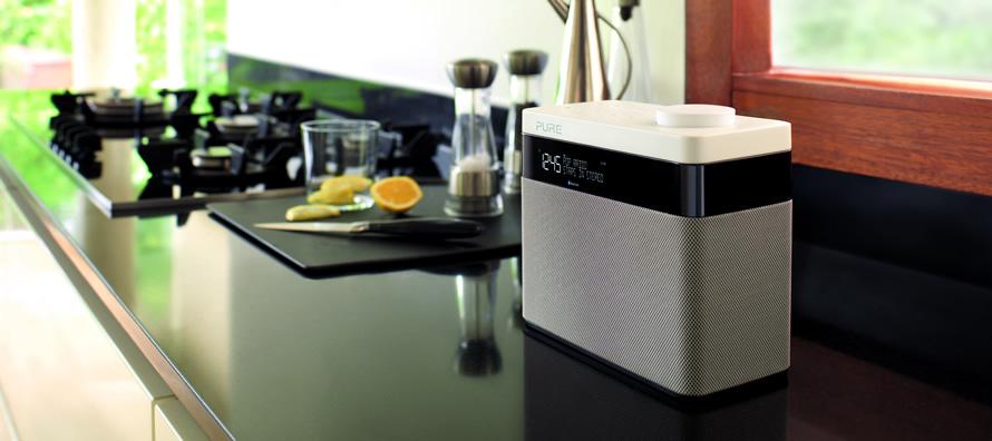 poste de radio avec double tuner fm dab et sans fil bluetooth. Black Bedroom Furniture Sets. Home Design Ideas