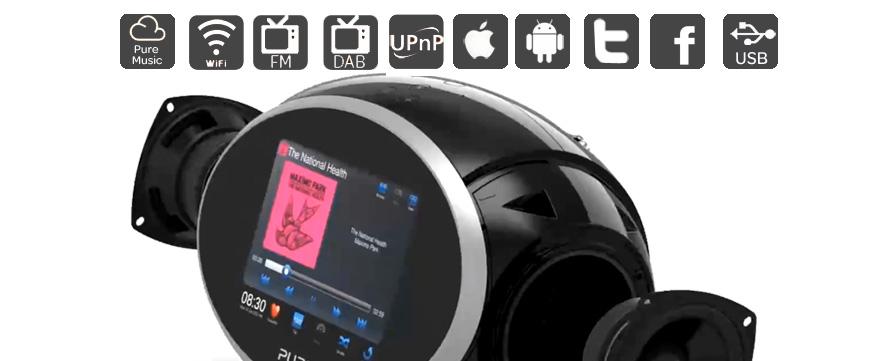 fonctionnalit s de la radio internet pure sensia 200 d connect. Black Bedroom Furniture Sets. Home Design Ideas