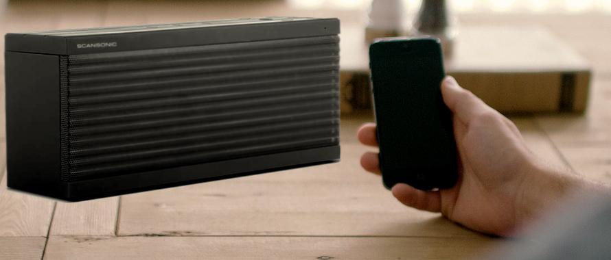enceinte compacte bluetooth pour smartphones et tablettes. Black Bedroom Furniture Sets. Home Design Ideas