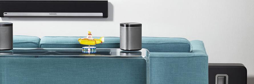 pack de 2 enceintes compactes sans fil wifi ou filaire avec lecteur r seau. Black Bedroom Furniture Sets. Home Design Ideas