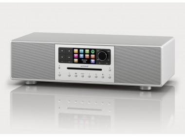 Sonoro MEISTERSTÜCK : Chaîne HiFi monobloc stéréo FM/DAB/Internet avec lecteur CD et Bluetooth aptX