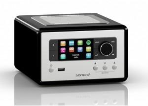 Sonoro RELAX Noir - Poste de Radio Internet, FM et RNT/DAB avec réceptions Bluetooth et WiFi