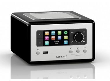Sonoro relax Poste de radio triple Tuner WiFi Spotify  Bluetooth et USB Favoris fonction Sleep Télécommande