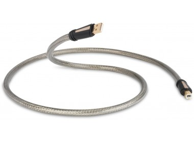 QED Reference USB A-B Haute Définition gris