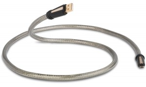 QED Reference USB A-Micro-B Haute Définition gris