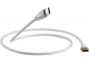 QED Profile eFlex HDMI Blanc