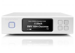 Aurender N100C - Streamer HiFi avec disque dur de stockage et mémoire SSD - sortie numérique USB et coaxiale RCA