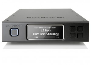 Aurender N100H Black - Lecteur HiFi avec disque dur de stockage et mémoire tampon SSD - Sortie audio numérique USB