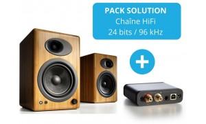 Audioengine A5+ Bois + DAC D1