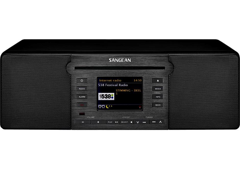 Promotion Sangean Revery R6 mini-chaîne compacte tout en un radio wifi lecteur CD bluetooth