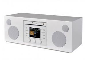 Como Audio Musica Laqué Piano Blanc - Mini-chaîne HiFi compacte et monobloc
