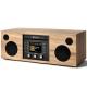 Como Audio Musica Noyer Clair - Mini-chaîne HiFi compacte et monobloc