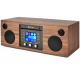 Como Audio Musica Noyer - Mini-chaîne HiFi compacte et monobloc