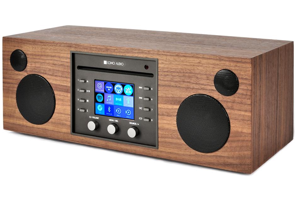 syst me hifi st r o wifi bluetooth lecteur cd et radio. Black Bedroom Furniture Sets. Home Design Ideas