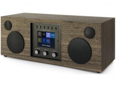 Como Audio Duetto : Système HiFi stéréo WiFi, Bluetooth et triple tuner radio