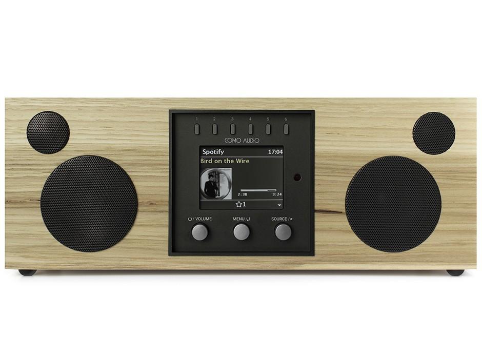 Como Audio Duetto - Poste de radio triple tuner Internet / DAB / FM avec réception Bluetooth