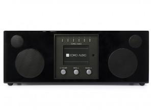 Como Audio Duetto Laqué Noir - Poste de radio triple tuner Internet / DAB / FM avec réception Bluetooth