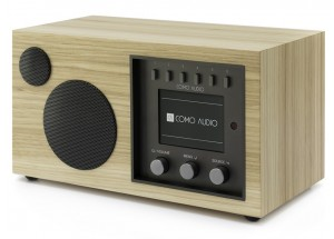 Como Audio Solo Noyer Clair - Poste de radio Internet / DAB+ / FM avec réception Bluetooth
