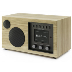 Como Audio Solo Noyer Clair - Poste de radio Internet / DAB+ / FM avec réception Bluetooth