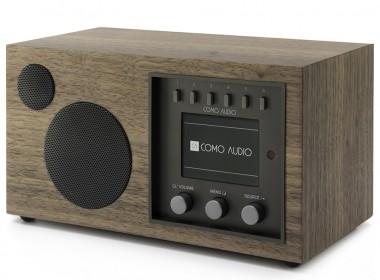 Como Audio Solo Noyer : Poste de radio WiFi, FM et DAB avec réception Bluetooth