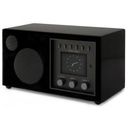 Como Audio Solo Laqué Noir - Poste de radio Internet / DAB+ / FM avec réception Bluetooth