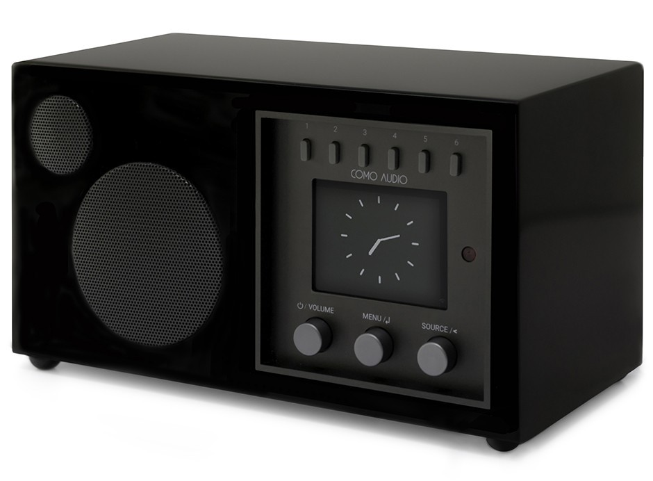 poste de radio wifi fm et dab avec r ception bluetooth. Black Bedroom Furniture Sets. Home Design Ideas