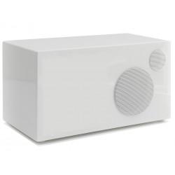Como Audio Ambiente Laqué Blanc - Enceinte additionnelle filaire pour le poste de radio Como Audio Solo