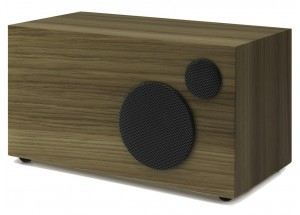 Como Audio Ambiente Noyer - Enceinte additionnelle filaire pour le poste de radio Como Audio Solo