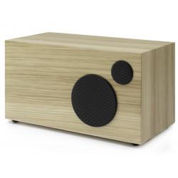 Como Audio Ambiente Noyer Clair - Enceinte additionnelle filaire pour le poste de radio Como Audio Solo