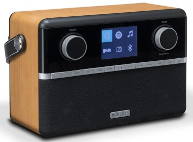 Roberts Stream 94i : poste de radio numérique WiFi Internet, DAB, FM, Bluetooth, USB, UPnP avec batterie optionnel