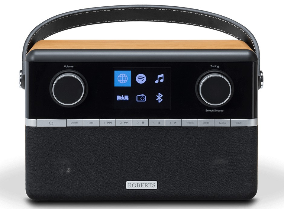 Roberts Stream 94i : Poste de radio Internet / DAB / FM avec Bluetooth et batterie en option