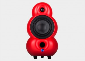 Podspeakers Minipod MK2 Bluetooth Rouge - Enceinte active avec Bluetooth aptX qualité CD