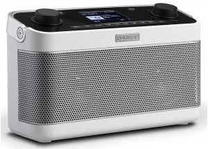 Roberts Stream 218 Blanc - Poste de radio Internet / DAB / FM avec réception Bluetooth