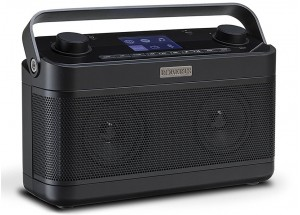 Roberts Stream 218 Noir - Poste de radio Internet / DAB / FM avec réception Bluetooth