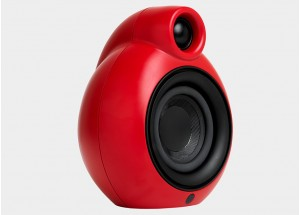 Podspeakers Micropod Bluetooth MK2 Rouge - Jumelage en stéréo avec une seconde enceinte Micropod MK2 Bluetooth