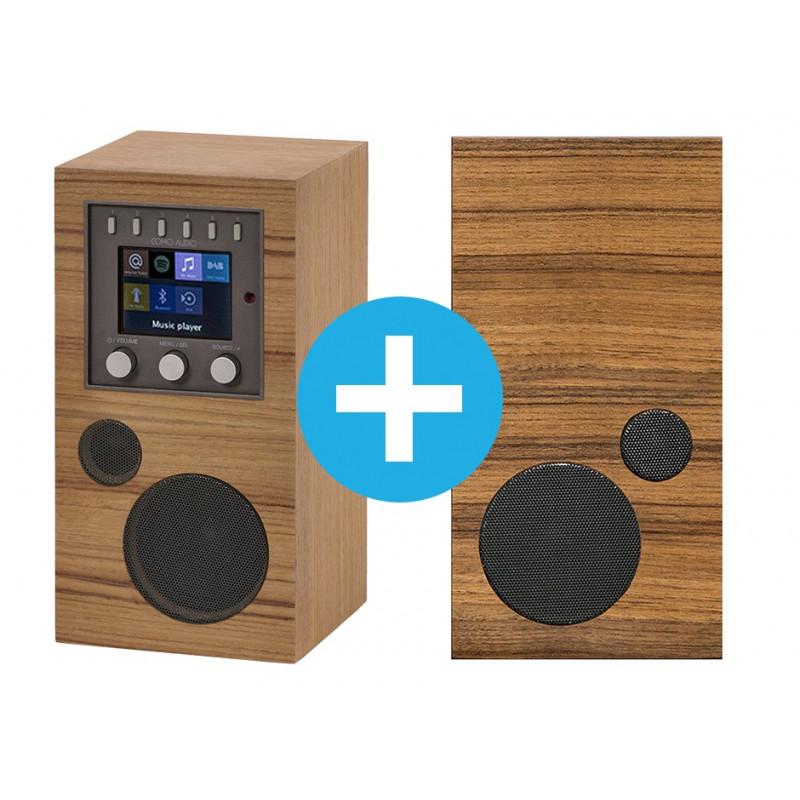 Découvrir Como Audio et ses postes de radio avec enceinte additionnelle filaire
