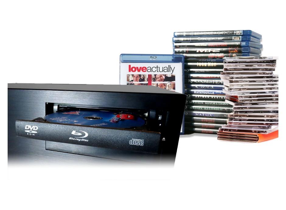 Service de RIP de DVD et Blulray audio : dématérialisation de vos films