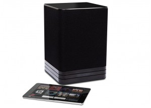 Electrocompaniet Living TANA SL-1 Noir - Enceinte multiroom sans fil WiFi ou filaire RJ45 avec réception AirPlay