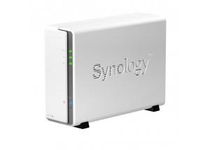 NAS Synology DS115j : configuration matérielle et logicielles réalisées en atelier