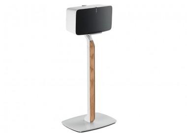 Sonos Play 5 - Flexson - Pied Premium Bois / Blanc (unité)