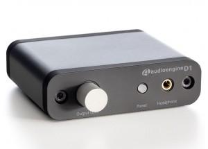 Audioengine DAC D1 - Réglage du volume et sortie casque