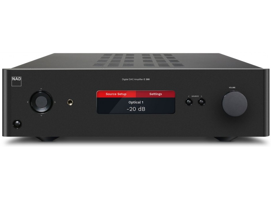 NAD C 388 - Amplificateur HiFi 2 x 80 Watts