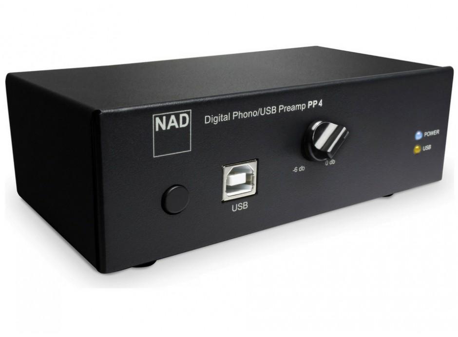 NAD PP4 - Préampli phono avec sortie sortie numérique USB