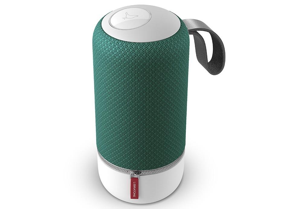 Libratone ZIPP Mini Vert - Enceinte sans fil WiFi, Bluetooth et AirPlay avec batterie intégrée