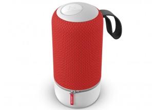 Libratone ZIPP Mini Rouge - Enceinte sans fil WiFi, Bluetooth et AirPlay avec batterie intégrée