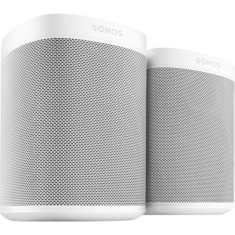 Promotion Sonos One et One SL Pack Duo enceinte sans fil WiFi multiroom Spotify Deezer AirPlay2