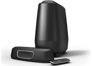 Polk Audio MagniFi Mini - Home-cinéma 2.1 avec barre de son, caisson de basses et télécommande