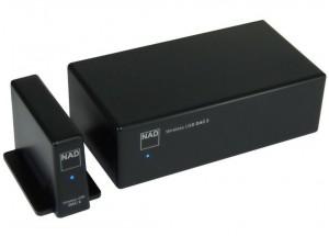 NAD DAC 2 - DAC wireless sans fils USB pour relier votre ordinateur à votre chaîne Hifi